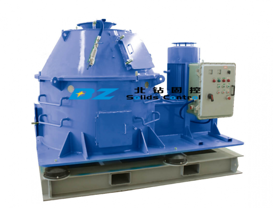 BZ Vertical Cuttings Dryer for treatment drilling waste