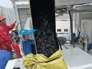 BZ Oil Sludge Treatment System Centrifuge treatment effect
